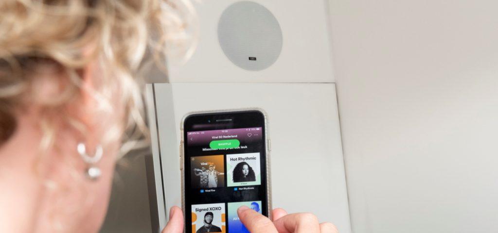 Dampf Speaker Comfort Deluxe Room - Hotel Delft - Westcord Hotels