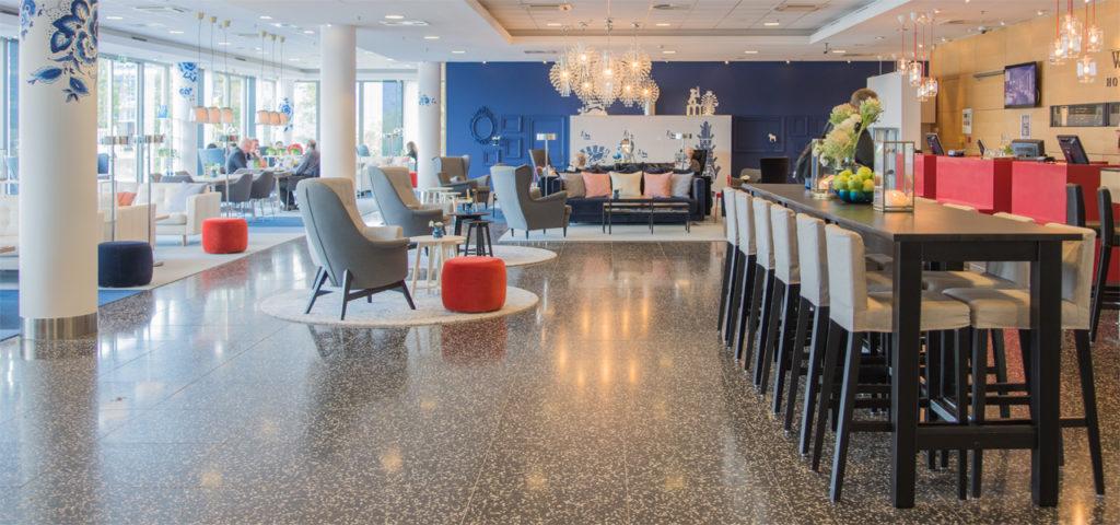 lobby-delft-westcord-hotel-delft-3 - Westcord Hotels