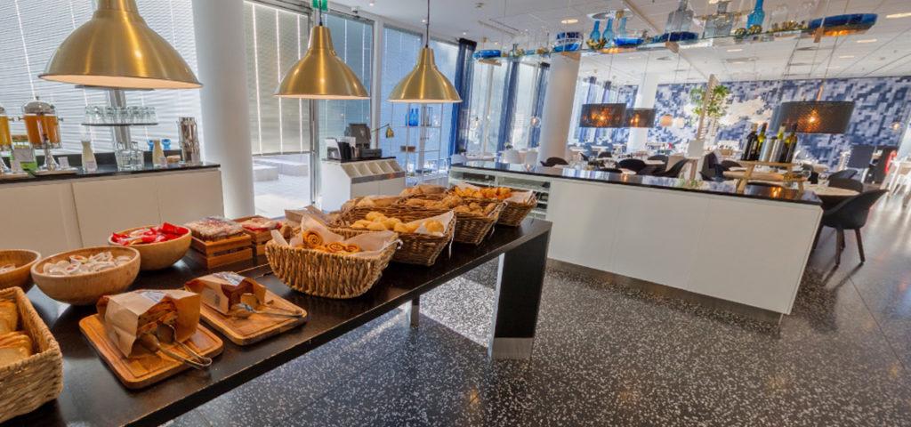 360º foto ontbijtrestaurant WestCord Hotel Delft - Westcord Hotels