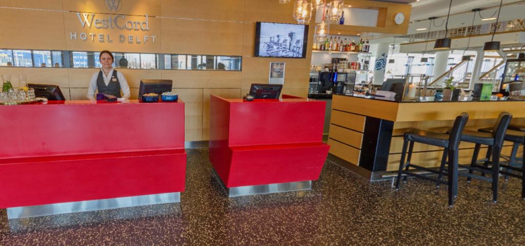 360º foto receptie WestCord Hotel Delft - Westcord Hotels
