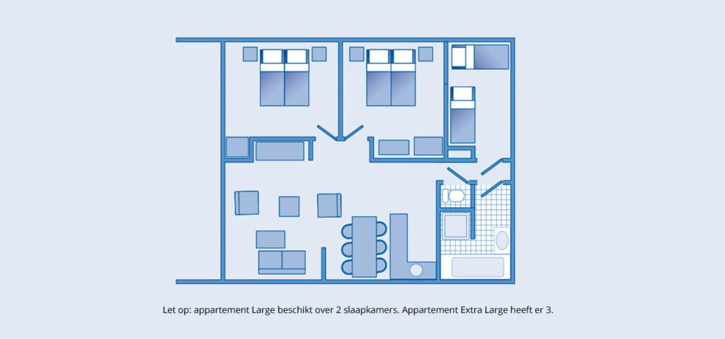plattegrond-appartement-westcord-strandhotel-seeduyn-l-xl-1280x600 - Westcord Hotels