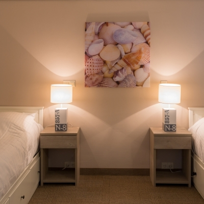 Appartement Large Strandhotel Seeduyn Slaapkamer