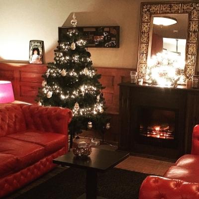 Hotel de Veluwe in kerstsfeer