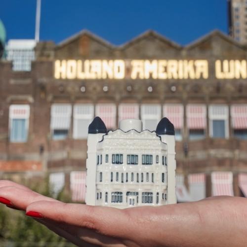 KLM huisje Hotel New York Rotterdam