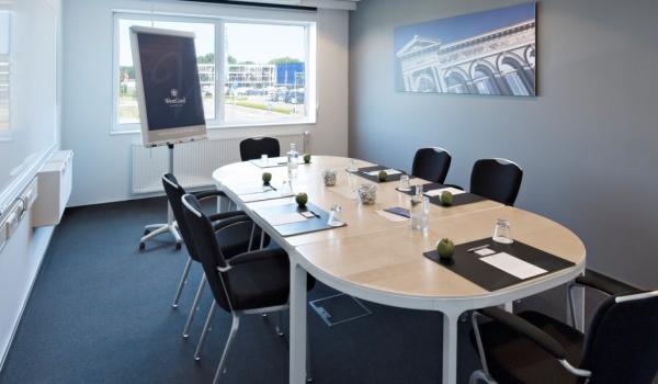 Vergaderen in een boardroom in Hotel Delft