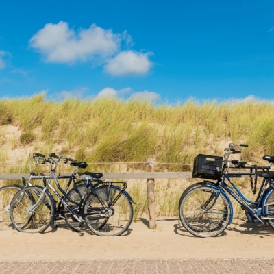 WestCord Strandopgang fietsen bij strand