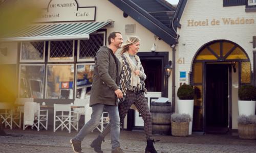 Vlieland - Hotel de Wadden - Dorpsstraat