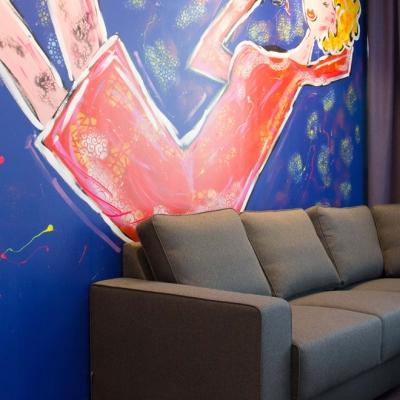 appartement-art-hotel-amsterdam-woonkamer