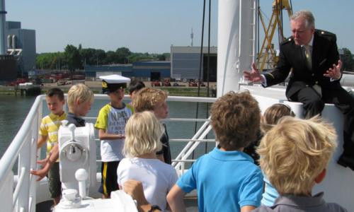 Kleine Kapitein in Rotterdam