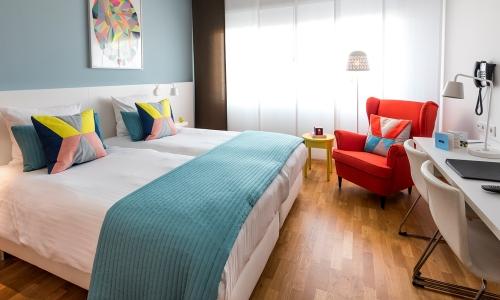 hotelkamer-blauw-hotel-delft
