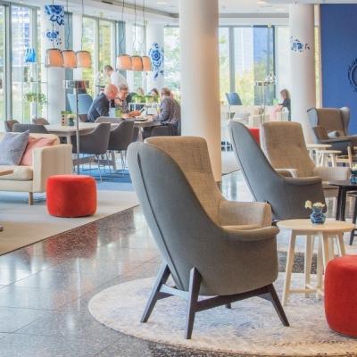 Lobby WestCord Hotel Delft