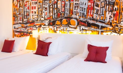 triple room, 3 persons Art Hotel Amsterdam