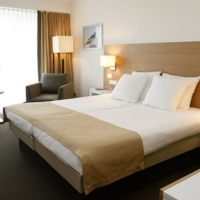 zeezijde kamer Strandhotel Seeduyn