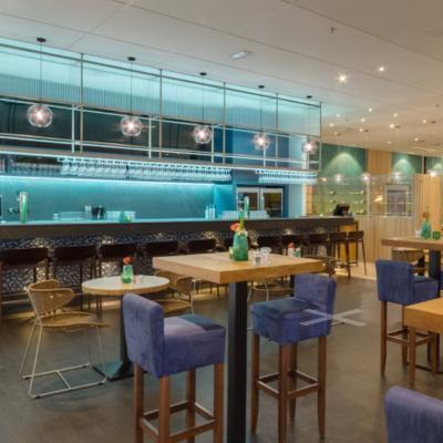 360º foto ontbijtrestaurant WestCord WTC Hotel Leeuwarden