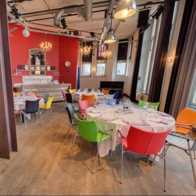 360º foto Balszaal (diner opstelling)