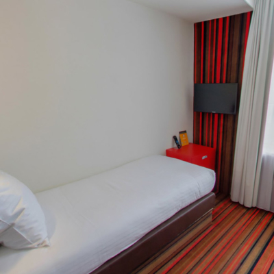 360º foto Single Kamer met city view WestCord City Centre Hotel Amsterdam