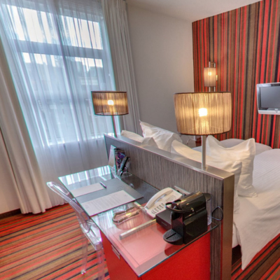 360º foto Twin Kamer met city view WestCord City Centre Hotel Amsterdam