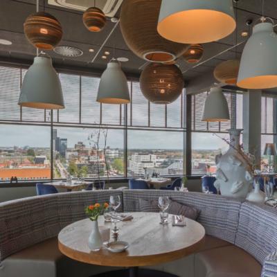 360º foto restaurant élevé 2 WestCord WTC Hotel Leeuwarden