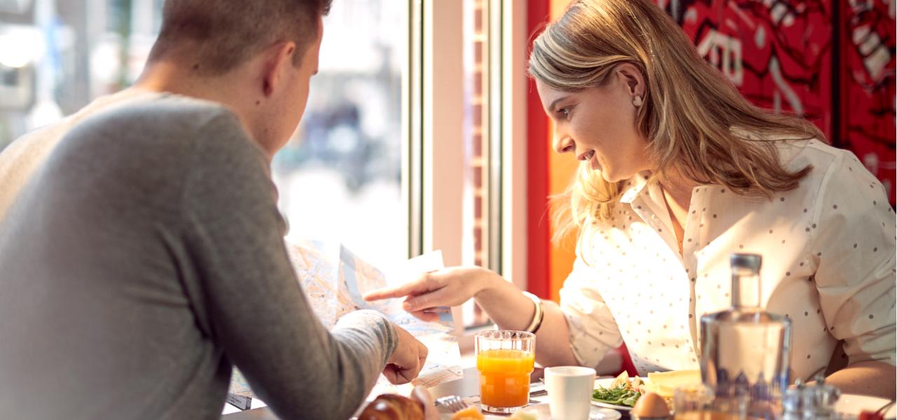 Couple-Breakfast-WestCord-City-Centre-Hotel-Amsterdam
