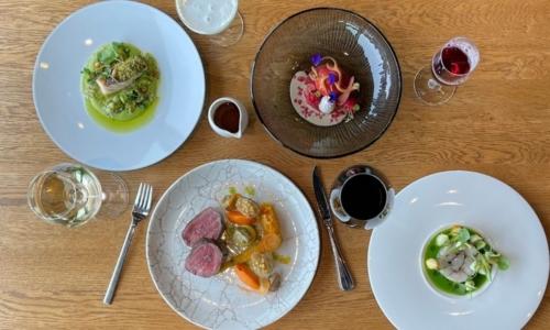 Thuismenu Restaurant élevé