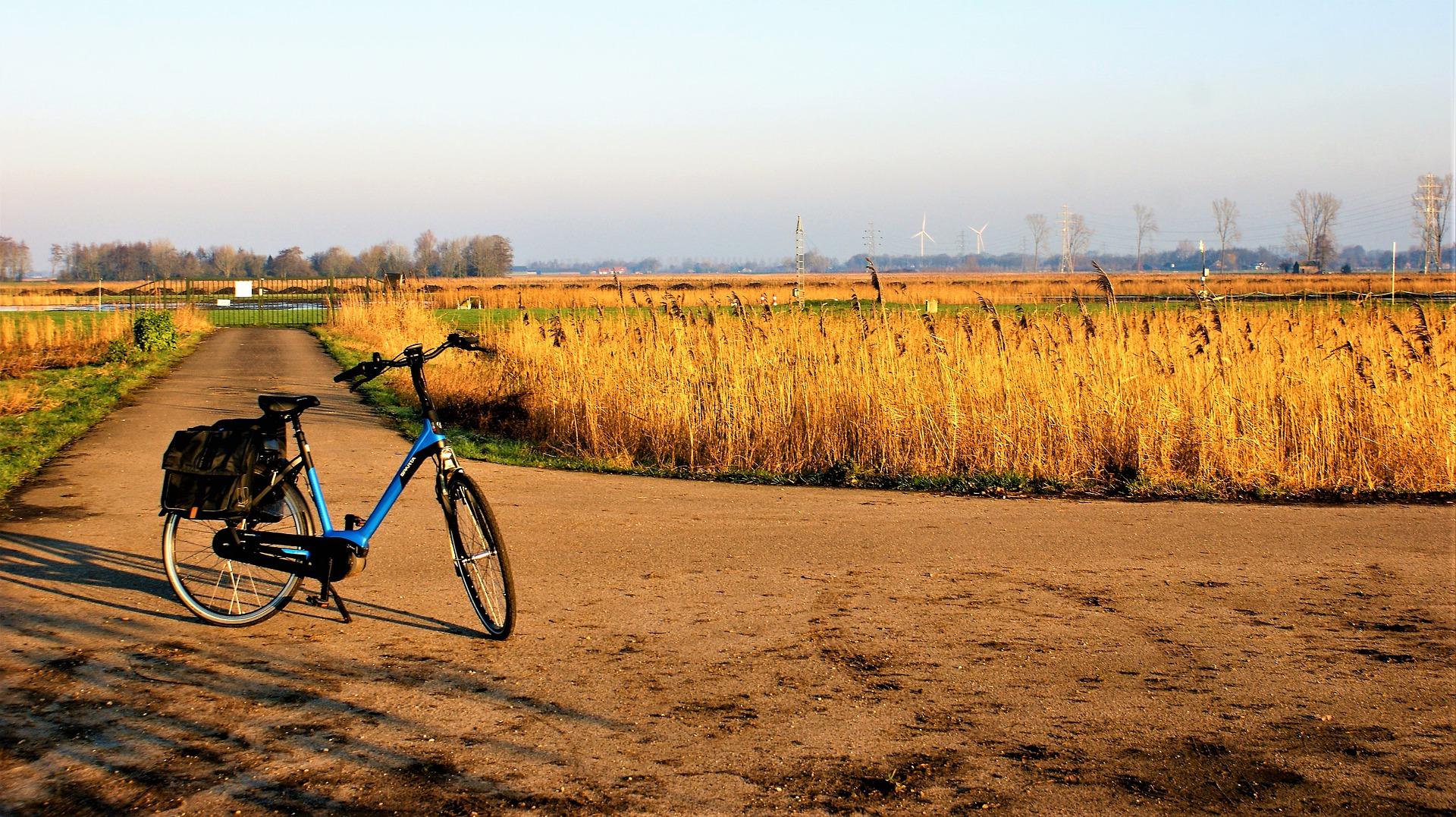 E-biken in Friesland
