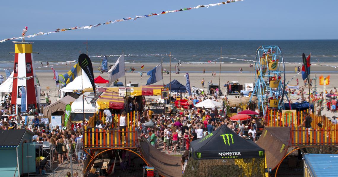 Zon, zee, strand en… festivals!