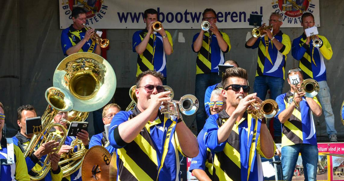 Muzikaal Bootwateren op Ameland